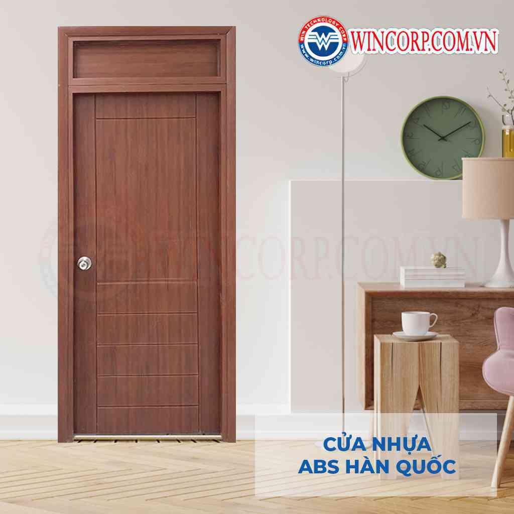 Cửa nhựa ABS KOS FIX 1 thích hợp với cửa có kích thước vượt tiêu chuẩn