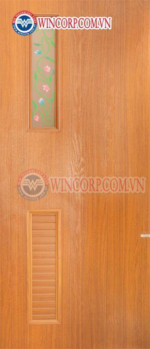 Cửa nhựa Đài Loan WIN DL.05-808B1g., Cửa nhựa Đài Loan, Cửa nhựa cao cấp, cửa nhựa Đài Loan, Cửa nhựa vân gỗ, cửa nhựa giả gỗ, Cửa nhà vệ sinh, Cửa phòng tắm, Cửa thông phòng, cửa giá rẻ
