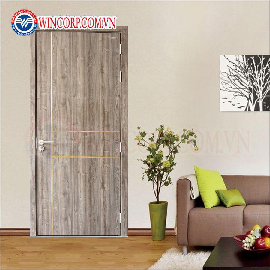 Cửa gỗ công nghiệp MDF MDF.P3R-ME