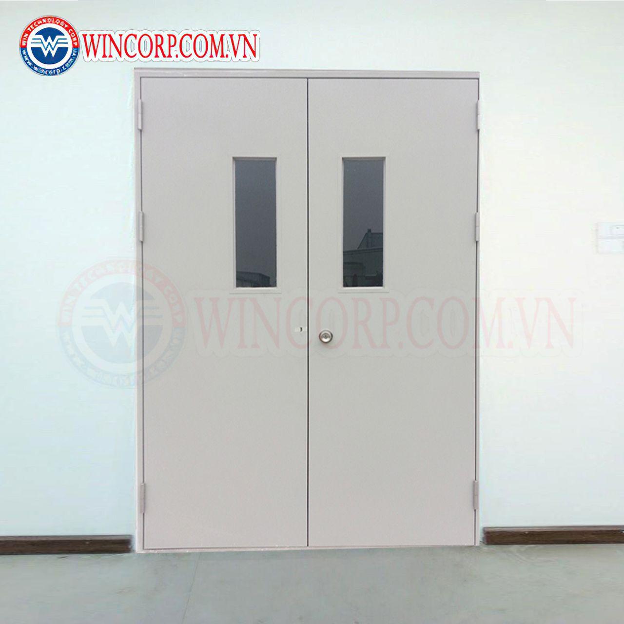 Cửa thép chống cháy TCC.P3G2-C1