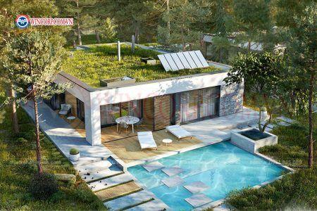Nhà vườn trên sân thượng